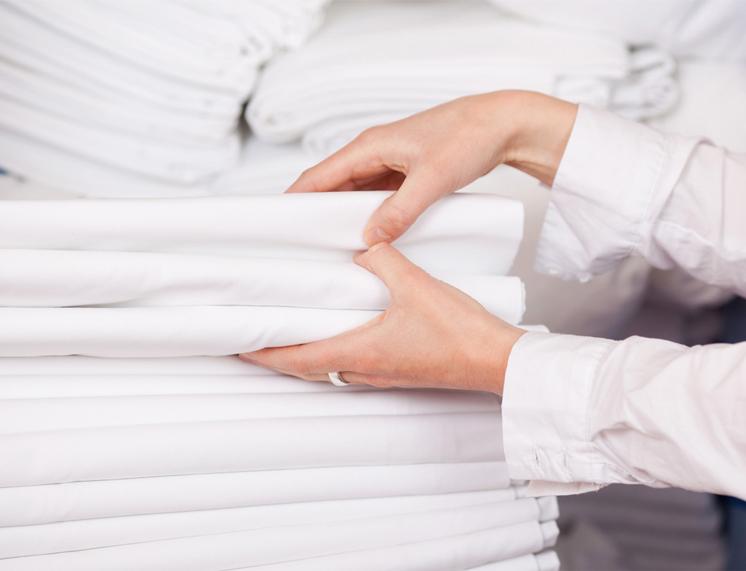 Completo Matrimoniale per Alberghi in 100% Cotone