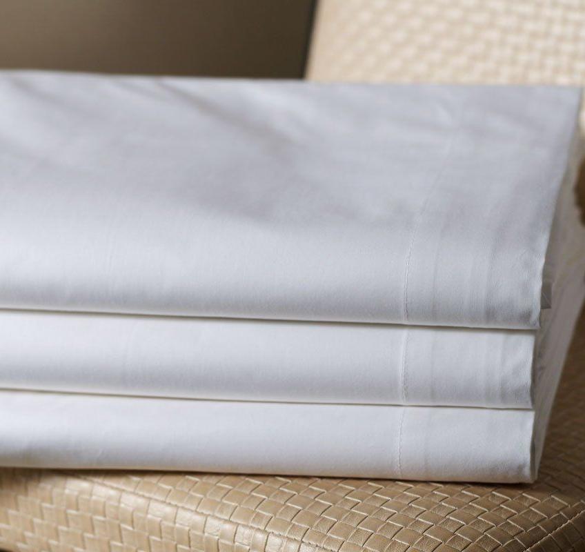 Lenzuola Matrimoniali per Alberghi in policotone per una veloce e facile stiratura